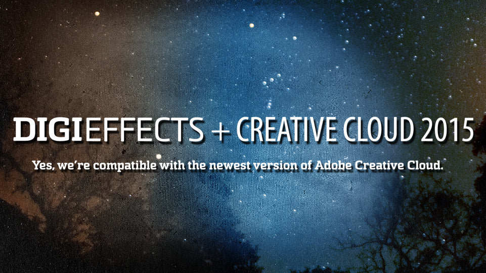 Digieffects And Creative Cloud 2015