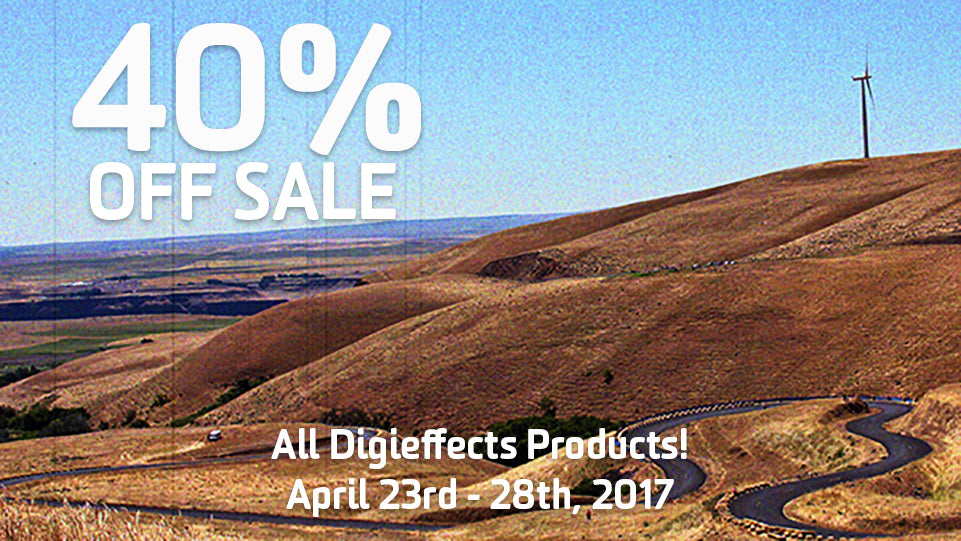 40 Percent Off Digieffects Next Week