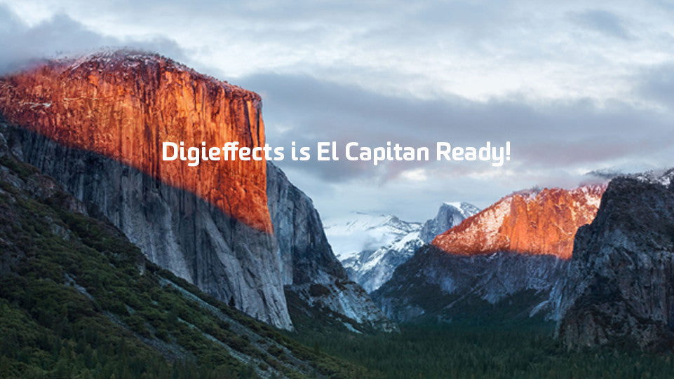 Digieffects Is El Capitan Ready