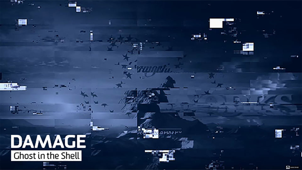 Ghost in the Shell DAMAGE Video Glitches
