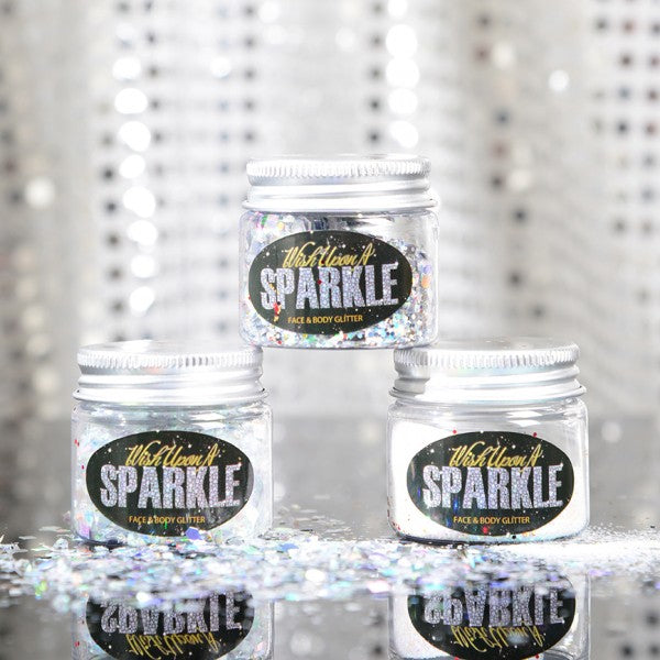 Snowflake Collection - Silver Glitter 3-Pack