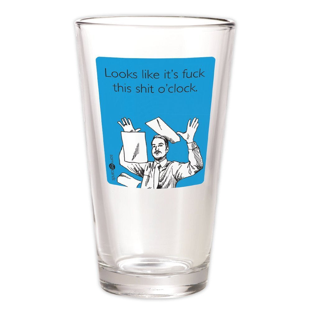 Fuck This Shit Pint Glass