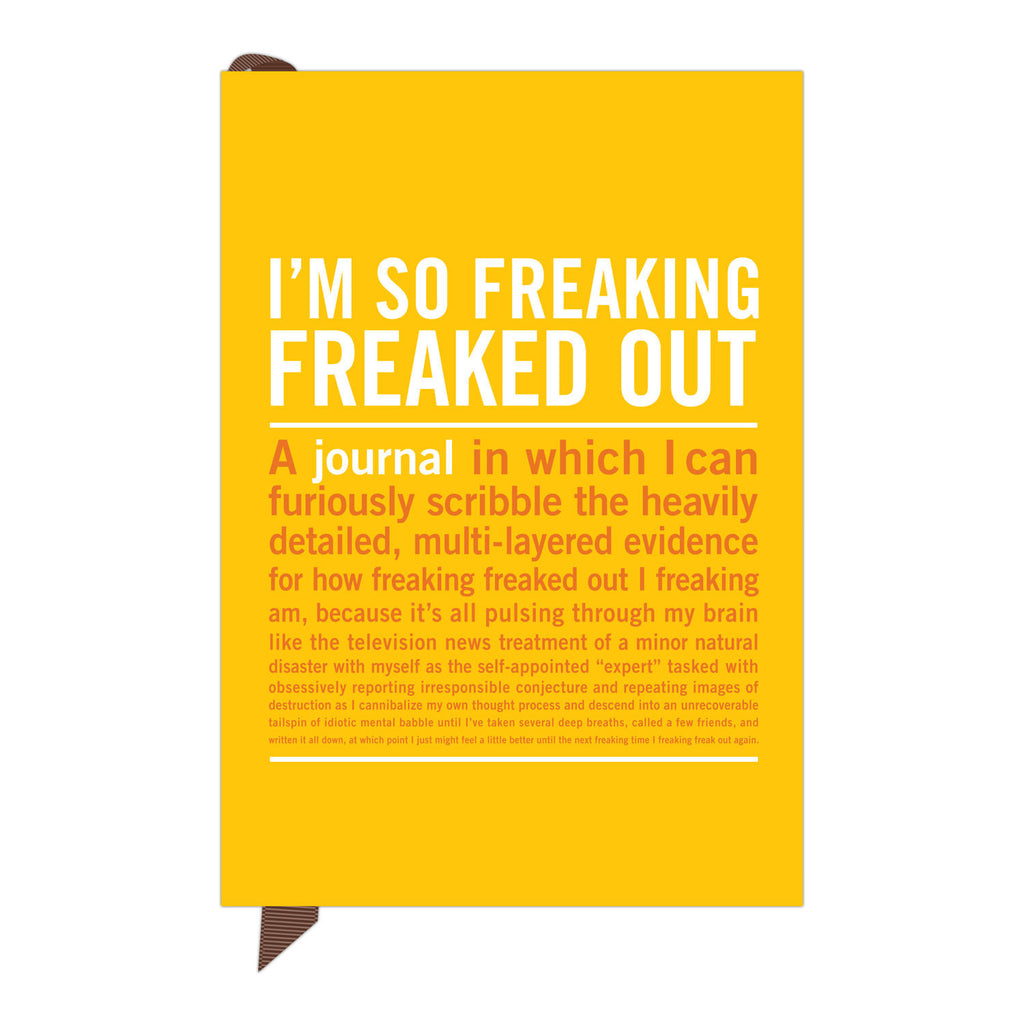 Freaked Out Mini Journal