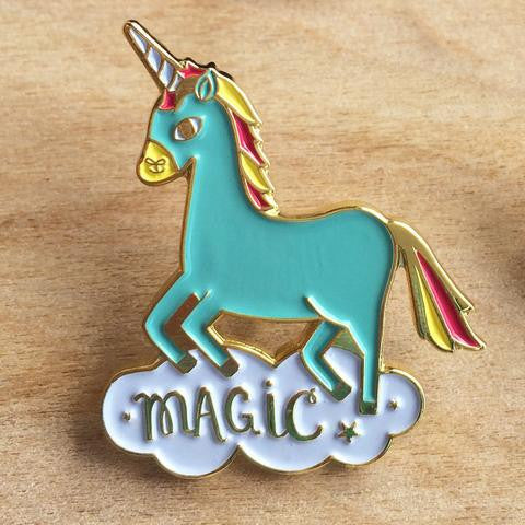 Magic Unicorn Lapel Pin