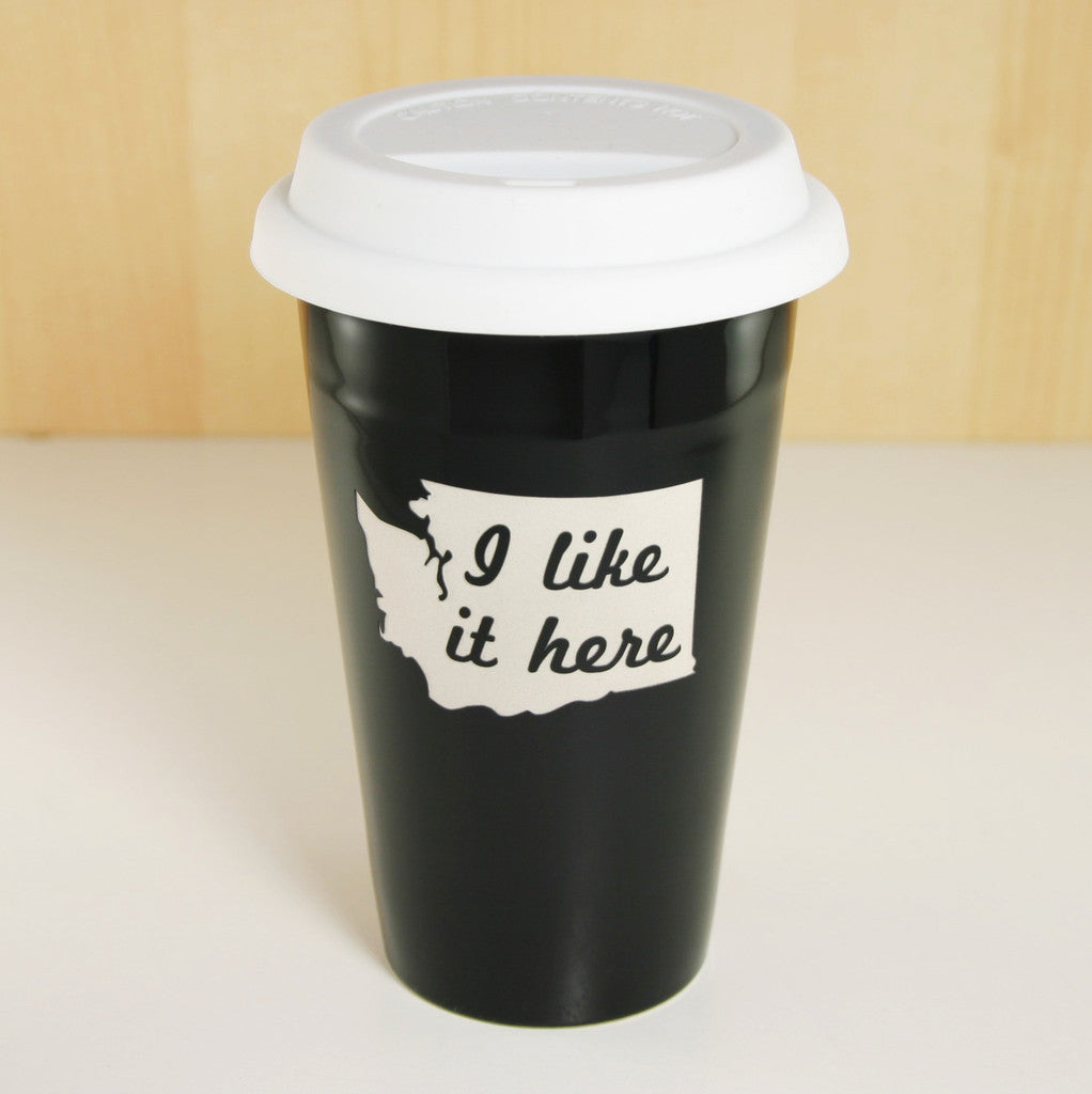 I Like It Here Travel Mug