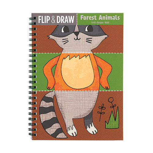 Flip & Draw Forest Animals