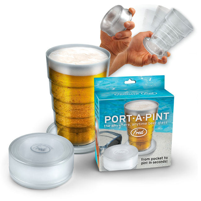 Port-A-Pint Folding Beer Glass