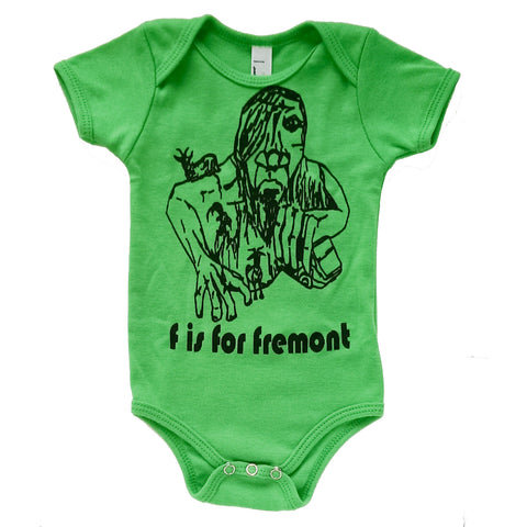 F is for Fremont Onesie