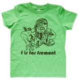 F is for Fremont Toddler Tee