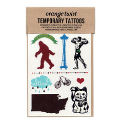 Seattle Temporary Tattoos