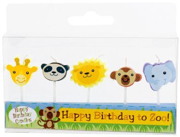 SALE Zoo Animal Candles