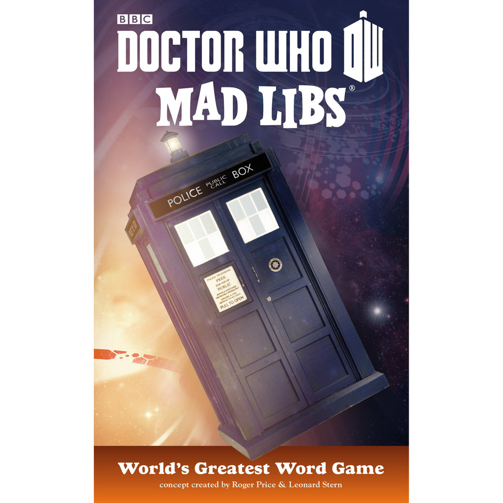 Doctor Who Mad Libs