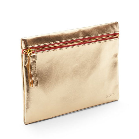 Gold Slim Pouch