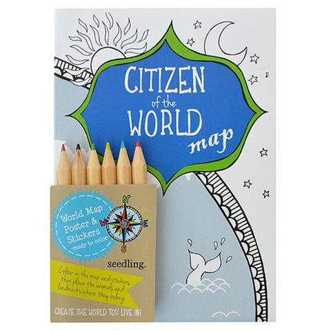 SALE Citizen of the World Map
