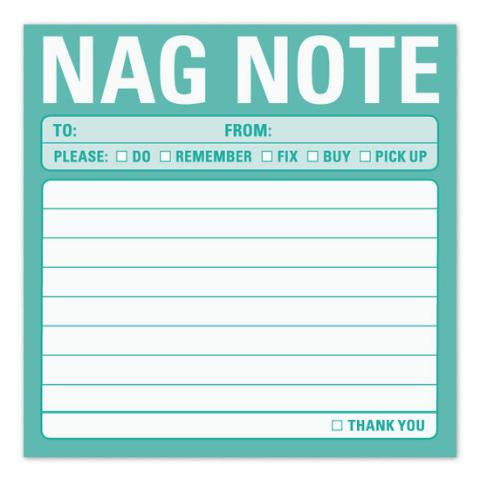 Nag Note Stickies