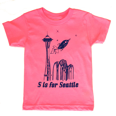 S is for Seattle Toddler Tee