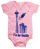 S is for Seattle Onesie