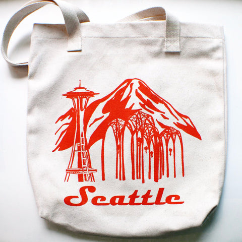 Seattle Space Needle Tote