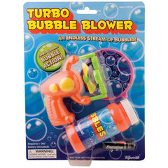 Turbo Bubble Blower Gun