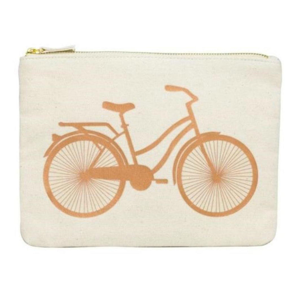 Gold Bike Pouch