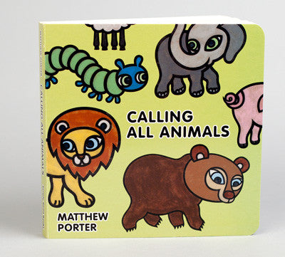 Calling All Animals Board Book