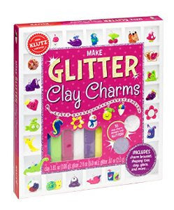 SALE Make Glitter Clay Charms