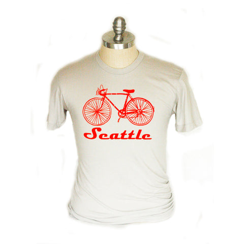 Seattle Adult Bike Tee