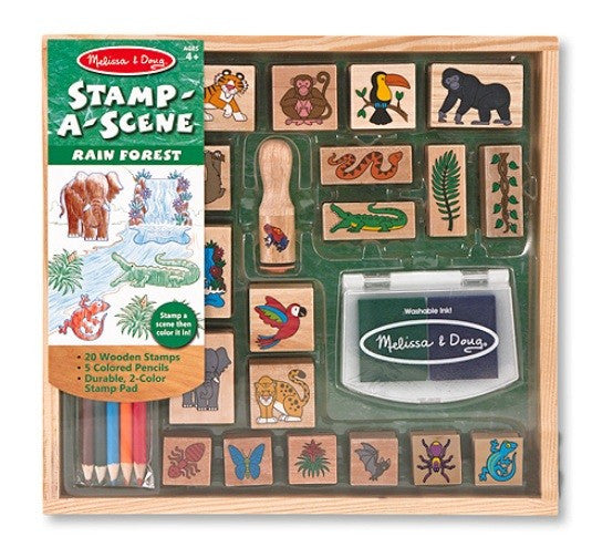 Stamp-a-Scene Rainforest