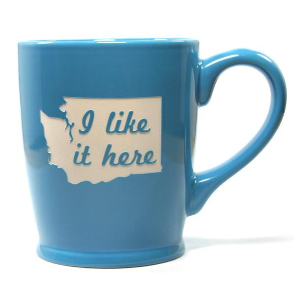 I Like It Here Mug