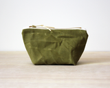 Madi May Waxed Canvas Pouches