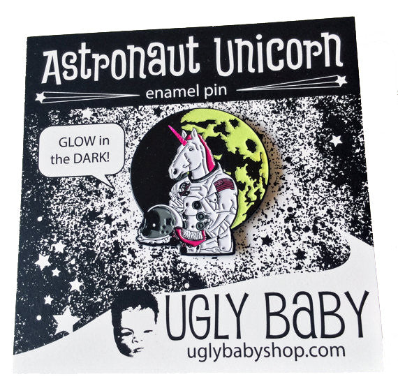 Unicorn Astronaut Lapel Pin