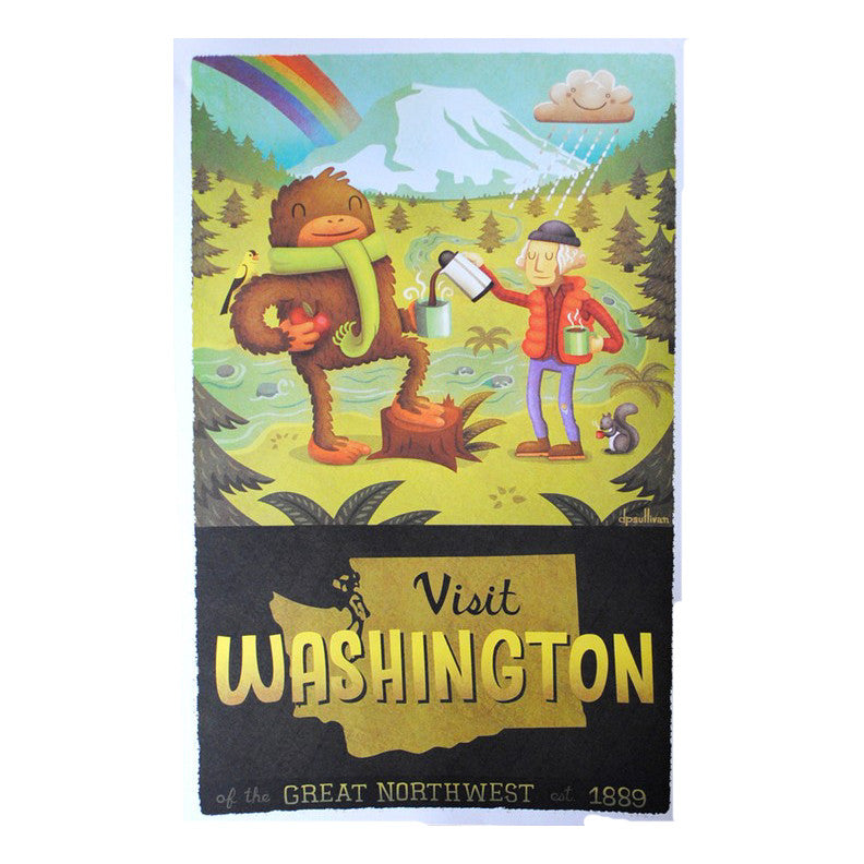 Visit Washington Print