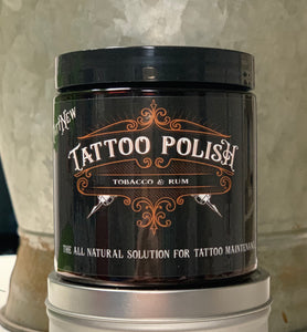 Tattoo Polish - Tobacco & Rum