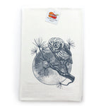 Owl and Moon Tea Towels