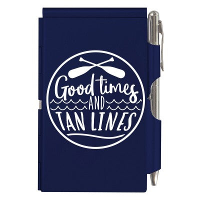 Tan Lines Notepad