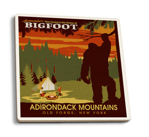 Bigfoot Home Old Forge New York Adirondack Mountains Coasters