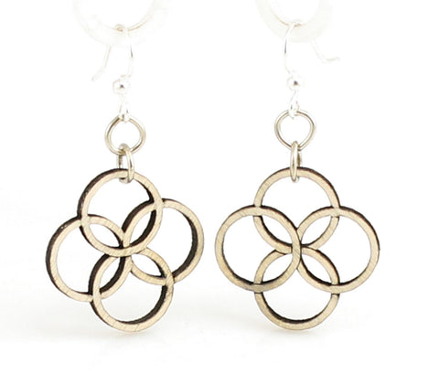 Integrated Circle Blossoms Earrings