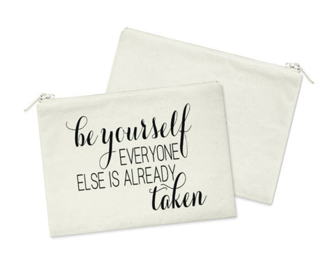 Be Yourself Cosmetic Bag