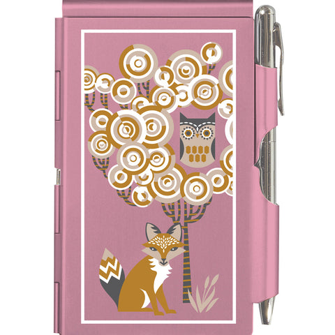 The Owl & The Fox Flip Notepad