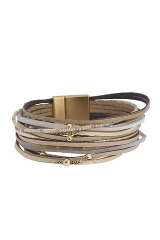 Ultra Light Weight Bracelet - Taupe