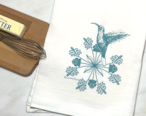 Hummingbird Tea Towels