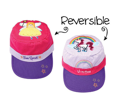 Reversible Kids' Cap - Fairy / Unicorn