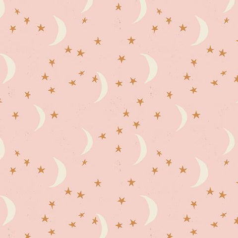 Organic Cotton Jersey Headband - Pink Moon