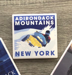 Snowmobile Adirondacks Coaster