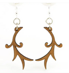 Branch Blossoms Earrings - Fresh Wood