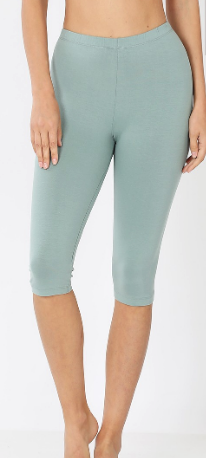 Cotton Capri Leggings - Plus