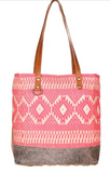 Pink Blessings Tote Bag