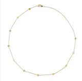 Milky Way Disc Chain Necklace - Gold or Silver