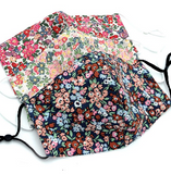 Floral Print Mask (Multiple Styles/Colors)