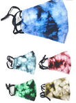 Tie Dye Mask w/ Nose Wire (Multiple Colors)
